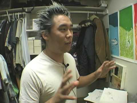 "Walrus TV Artist Feature:  David Choe Interview from ""Dithers"""