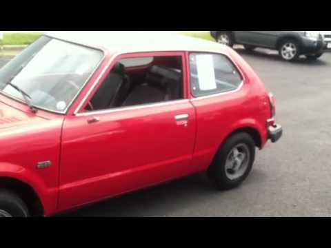1979 Honda Civic CVCC - YouTube