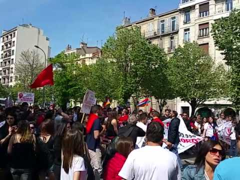 Marseille, Armenian Genocide /24.04.2015