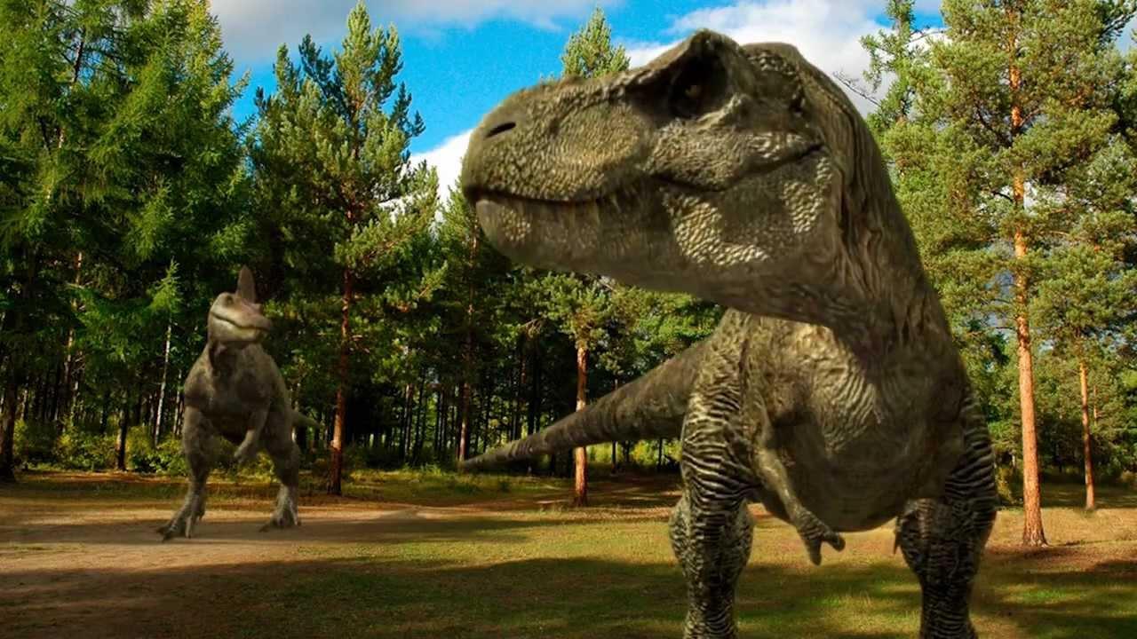 Real Dinosaurs T Rex DINOSAURS - T-Rex VS. ...