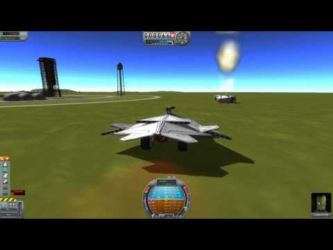 Playing around in Kerbal Space Program