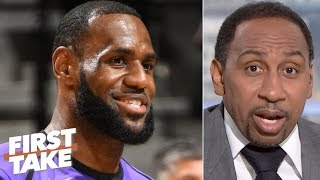 Stephen A. calls for the Lakers to be ranked higher than 4th among title contenders | First Take