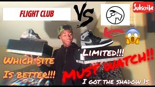 FLIGHT CLUB VS GOAT (WHICH IS BETTER??)