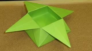 Daily Origami:  046 - Star Box Or Flower Casket