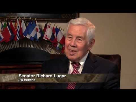 Senator Richard Lugar of Indiana - Part One