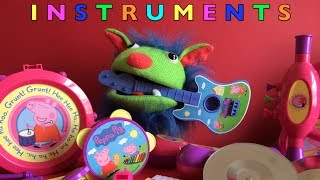 Musical Instruments For Children, Toddlers And Babies With Peppa Pig Musical Band Set Toys