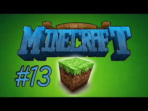 How to Minecraft THE NETHER RAIL SYSTEM Episode 13 with Nooch