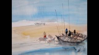 Bangladesh Watercolor by Mimo
