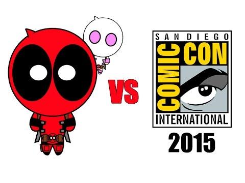 Deadpool vs Comic Con 2015