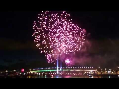 Fireworks Australia Day Docklands Melbourne 2015