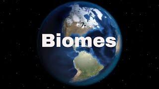 List major biomes
