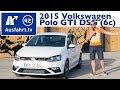 2015 Volkswagen VW Polo GTI 6R DSG Fahrbericht Test Video Review Test 192PS AusfahrtTV