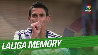 LaLiga Memory: Di María Best Goals and Skills