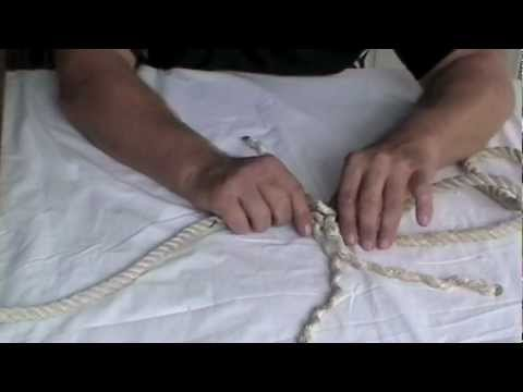 How to do an Eye Splice, Crown Knot & Back Splice
