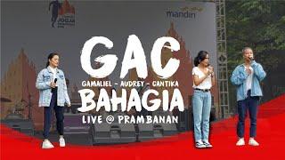 Gac Gamaliel Audrey Cantika Bahagia Live A Mandiri Jogja Marathon 2018 Prambanan