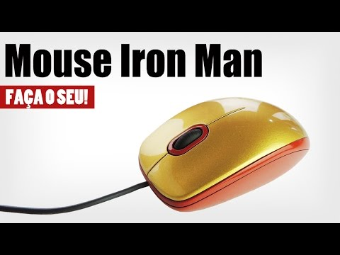 Mouse Iron Man – Faça o seu!