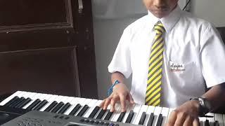 Ma Tuje Salam on piano keyboard (Part-1)