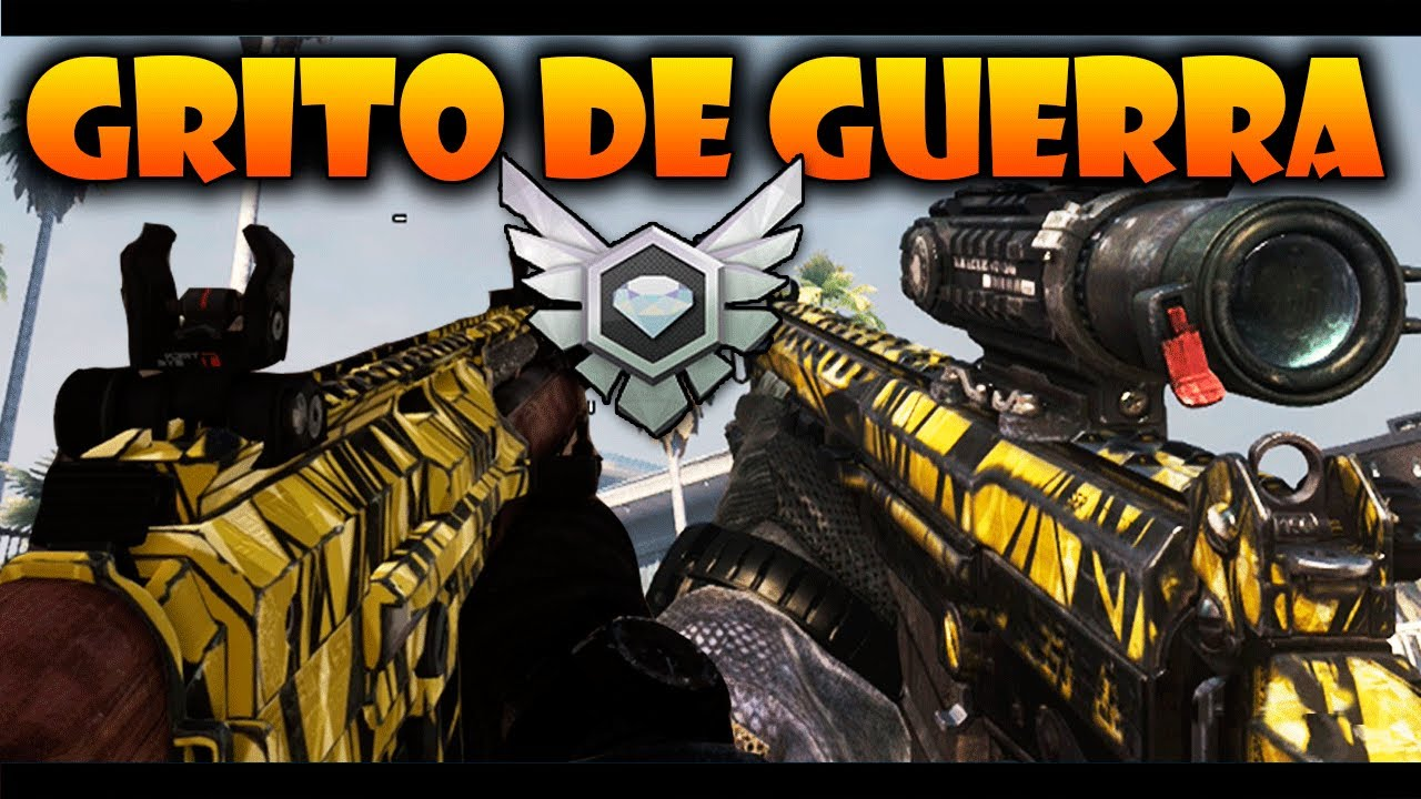 Nuevo Camuflaje Exclusivo Grito De Guerra Call Of Duty