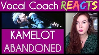 Vocal Coach reacts to Kamelot - Abandoned Live
