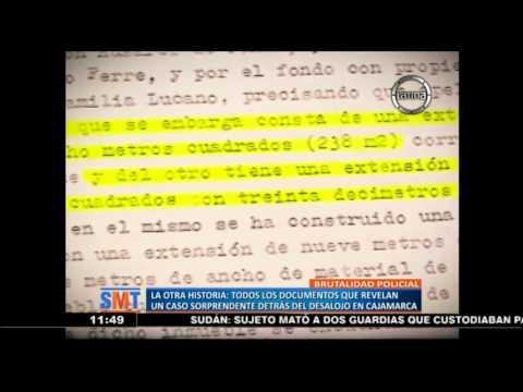 Cajamarca: Documentos que revelan el sorprendente caso detrás del desalojo
