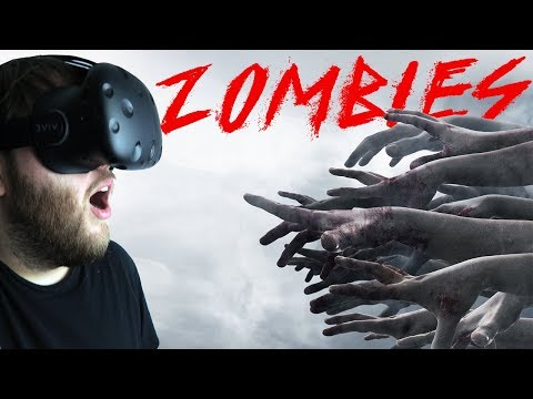Pavlov VR - Fighting Off Hordes Of Zombies In VR - Multiplayer Co-op - Pavlov VR Gameplay