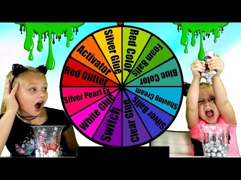 MYSTERY WHEEL Of SLIME Switch Up Challenge!!!