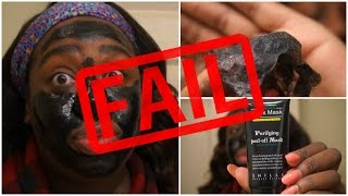 Black Peel-Off Mask FAIL | Review + Demo