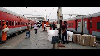 DURONTO Vs RAJDHANI : Chennai - Delhi Full Journey By LHB DURONTO Express [Part 1]