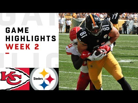 Chiefs vs. Steelers Week 2 Highlights | NFL 2018