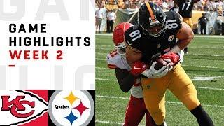 Chiefs vs. Steelers Week 2 Highlights | NFL 2018