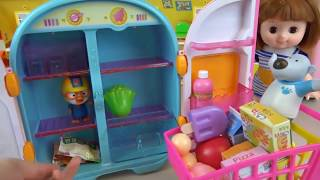 amazing Baby Doll Refrigerator toys and Pororo Food toys