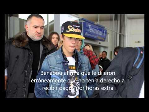 Justin Bieber golpea a guardaespaldas