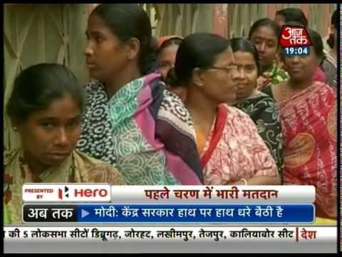 Bumper voting in Tripura and Assam