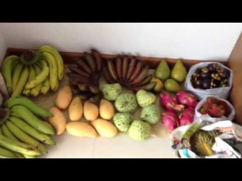 Fruit Haul and Muang Mai Market