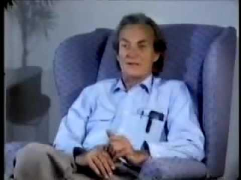 Richard Feynman Thinking Part 1 of 2