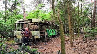 FOUND Lost SchoolBus In Middle Of Woods (How Did It End Up There?)