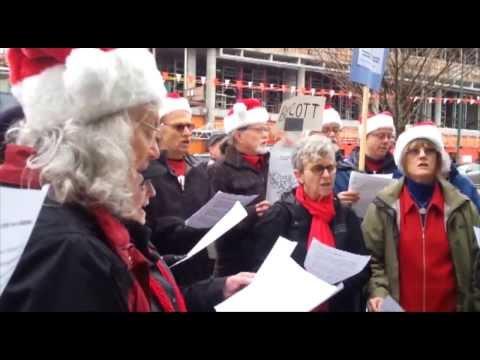 Boycott SodaStream - Vancouver December 21. 2013