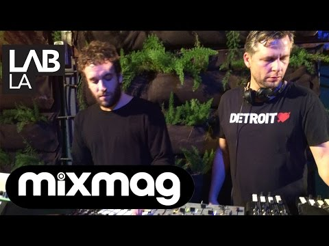MARTIN BUTTRICH and GUTI live techno set in The Lab LA