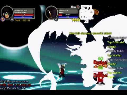 AQW: CardClasher VS Desoloth