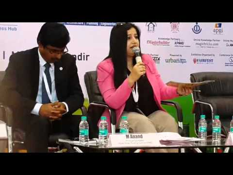Mala Singh Chairing session on 'Green Building Technologies & Products' during Municipalika (Part-1)