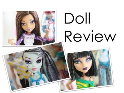 Doll Review : Monster High