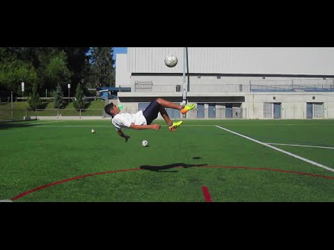 How to do the Bicycle Kick Like Rooney, Ronaldo, Falcao, and Messi