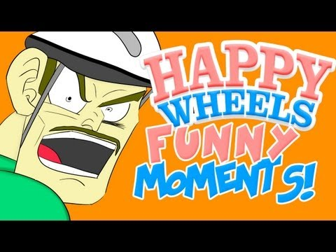 HAPPY WHEELS - FUNNY MOMENTS MONTAGE #2