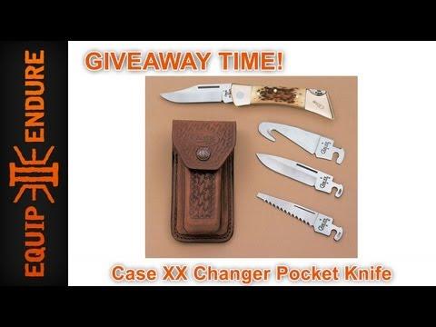 Case XX Changer Pocket Knife Giveaway by Equip 2 Endure