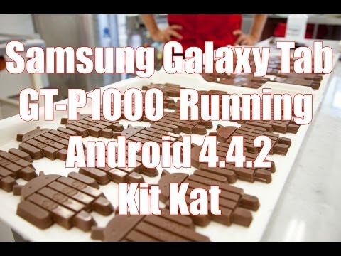 Flashing Galaxy Tab GT P1000 to Android Kit Kat 4.4.2 CyanogenMod CM 11
