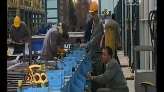 #ممكن | فقرة خاصة من داخل مصنع سيماف لإنتاج عربات السكة الحديد ومترو الانفاق