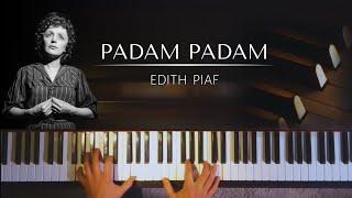 Edith Piaf Padam Padam Piano Sheets