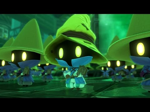 World of Final Fantasy: Vivi Boss Fight (1080p 60fps)