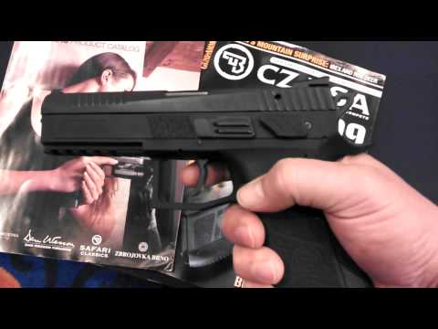 Quick look..CZ P-09 Duty 9mm 19+1