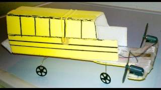 Flying School Bus Made from AirHogs Parts
